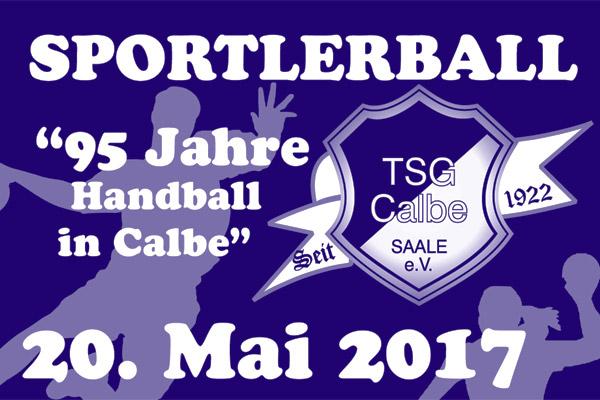 95 Jahre Handball Sportlerball