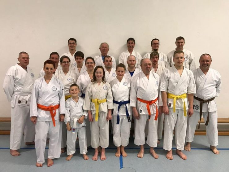 Karate Gruppenbild